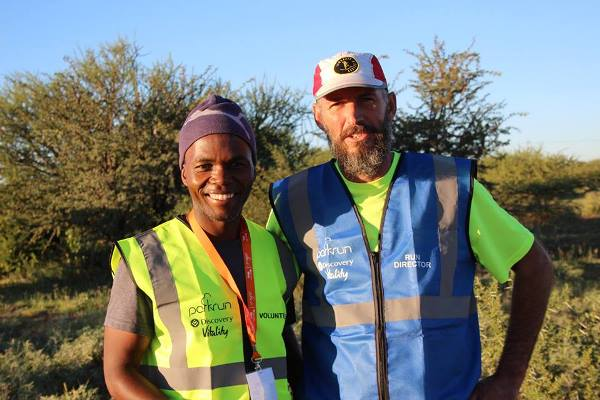 Volunteers at Galeshewe parkrun