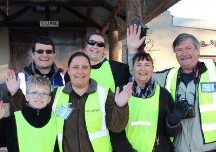 Labuschagne family volunteering original