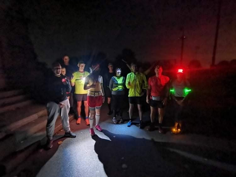 Awesome start to Rob 'Forrest Gump' Pope's epic ultra parkrun