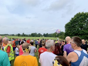 The excited crowds begin the arrive, the buzz of happiness is in the air once more. It must be parkrun day :-)