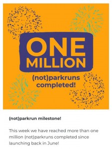 One million notparkruns