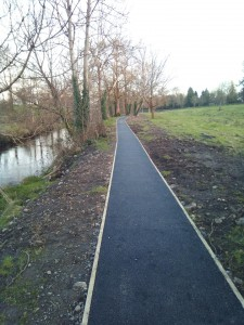 a preview of our lovely new pathways.
