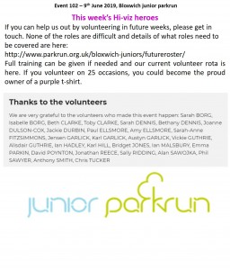 volunteers 102