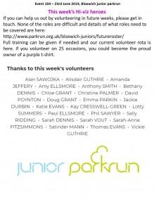 volunteers 104