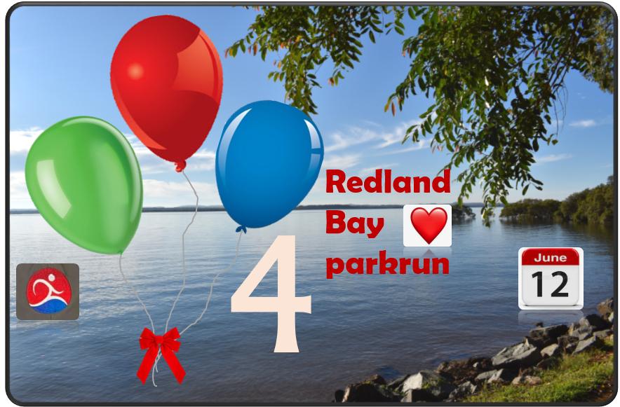4th Anniversary Redland Bay parkrun