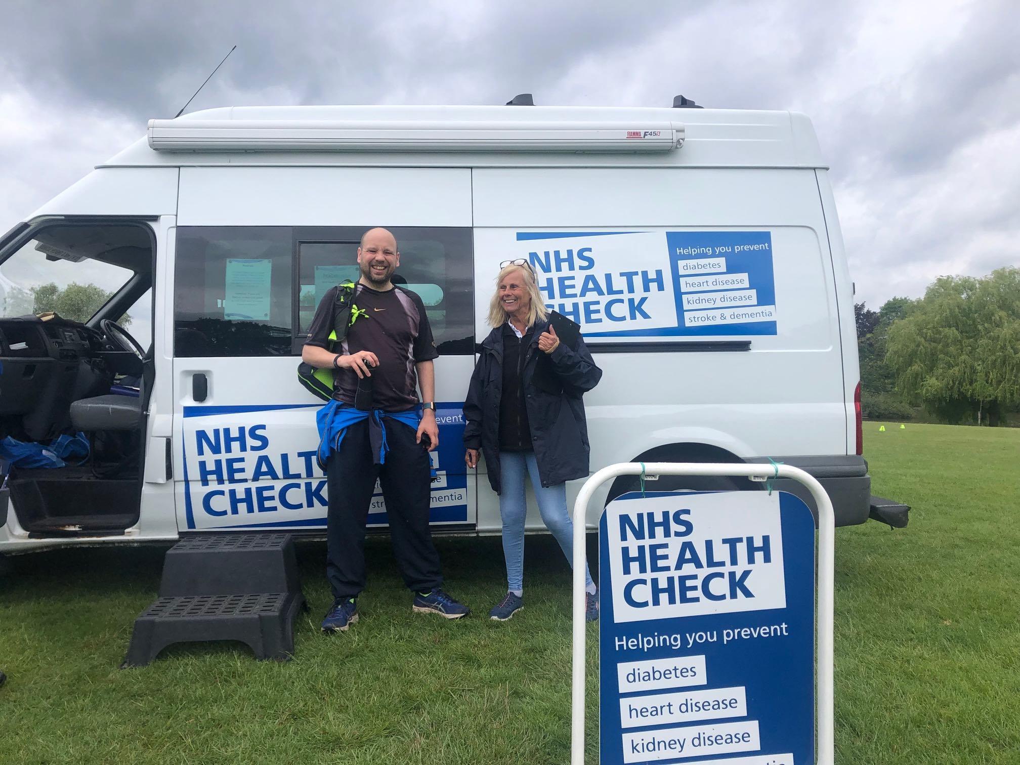 nhs health check van