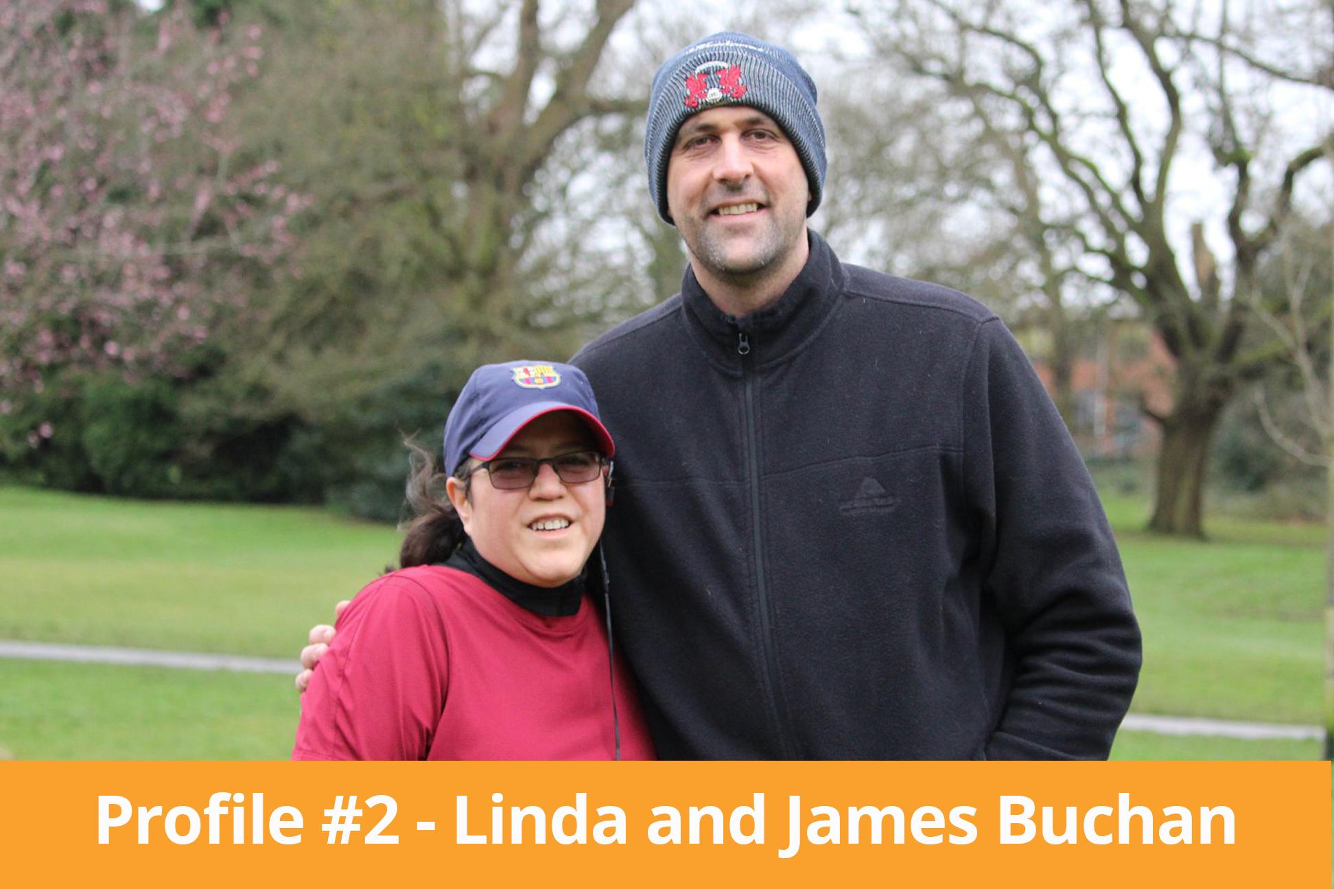 linda and james