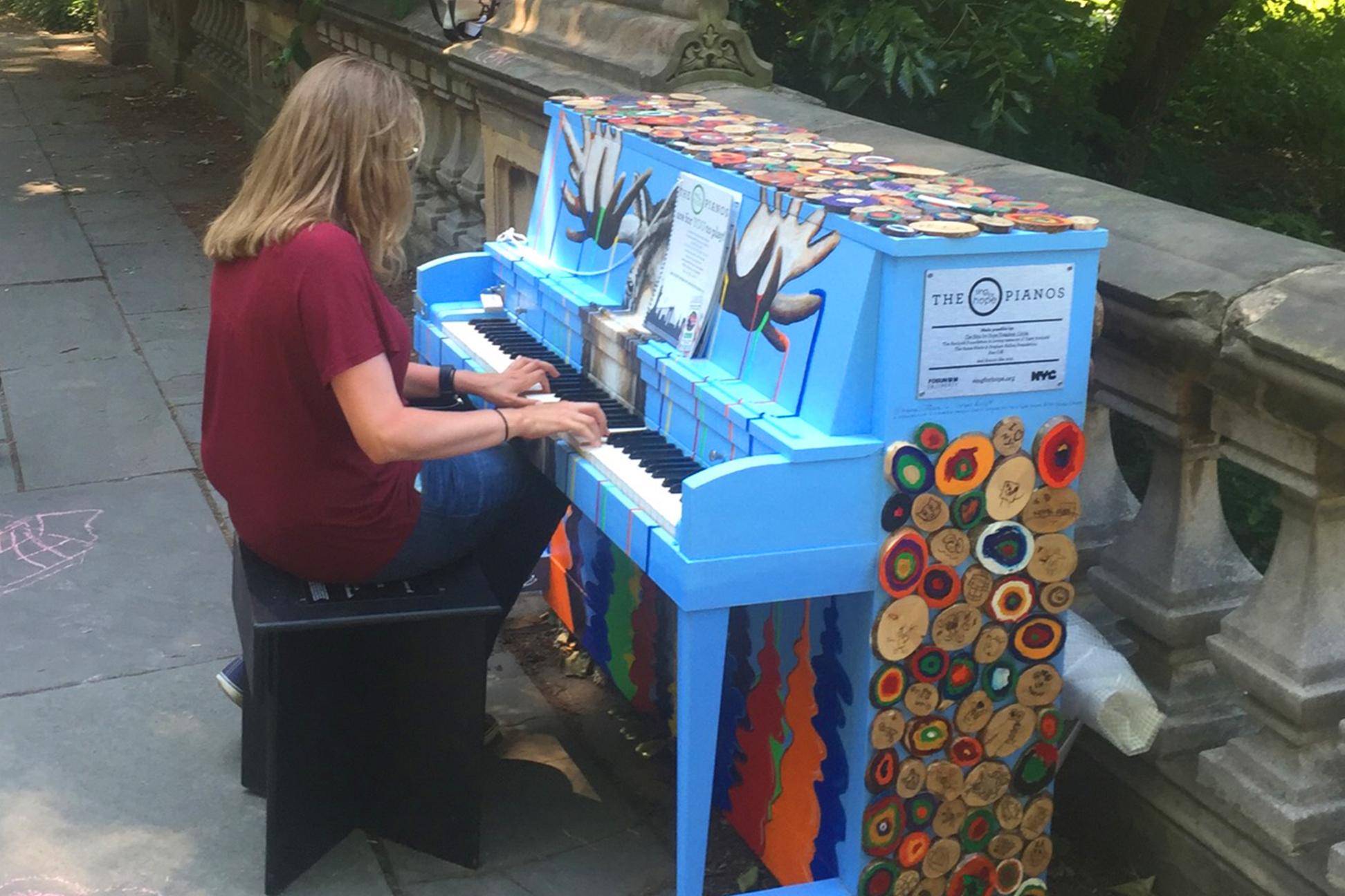 piano central park nyc