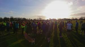 Harrogate parkrun 372 gathering