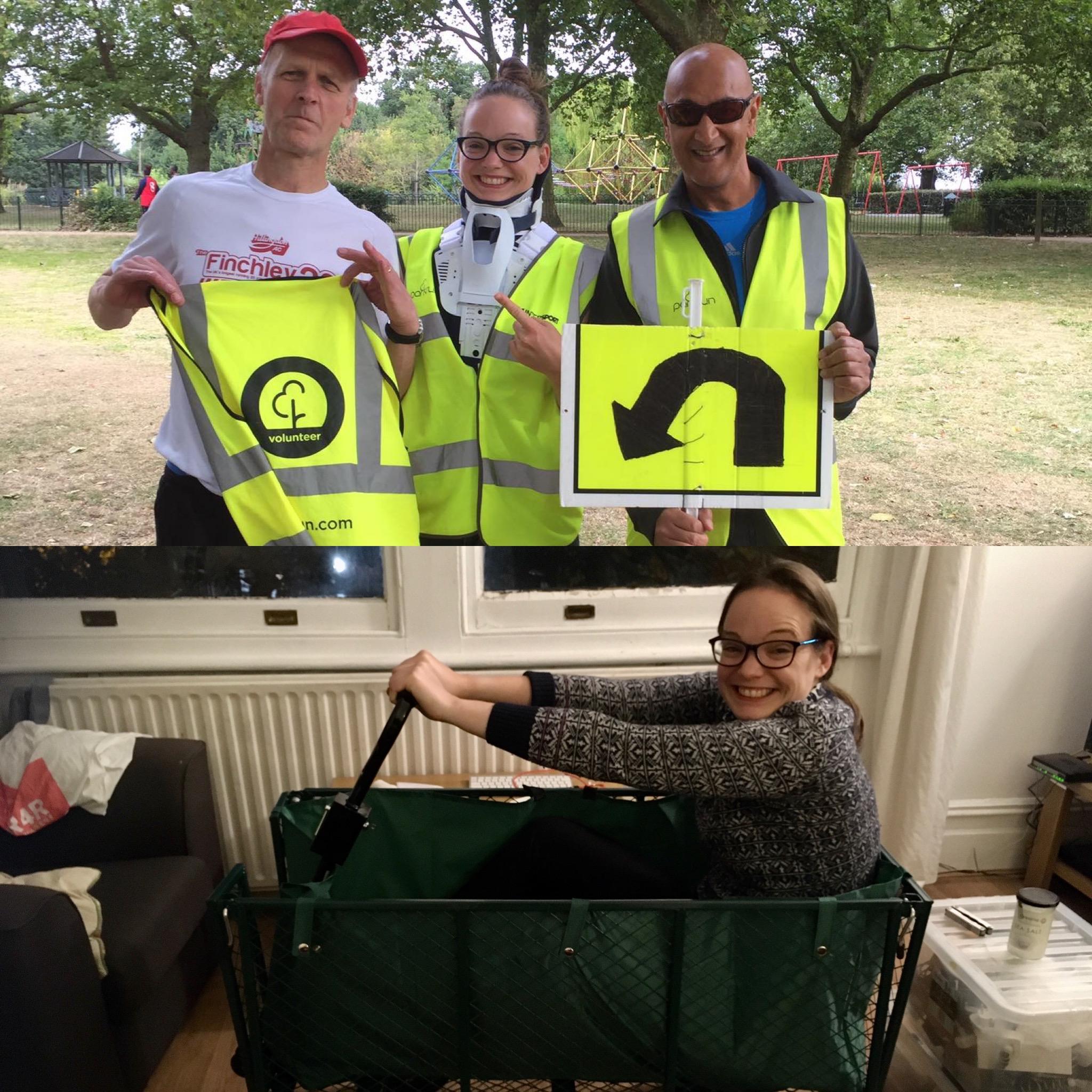 Volunteering collage