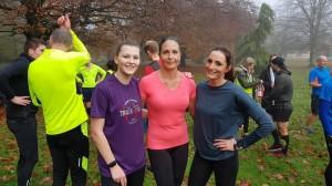 Leading ladies Millie, Sarah and Emma.