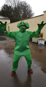 A leap year parkrun wouldn't be complete with out our very own frog, thank you Ali!