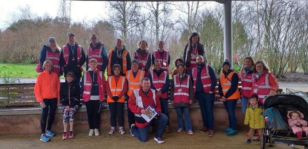 parkrun volunteers