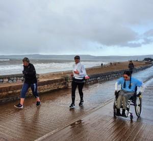 wheelchair Leap parkrun