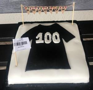 May's 100th cake
