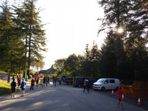 Run Brief area