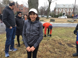 Susan Chahwan, our 100th finisher at our 100th event