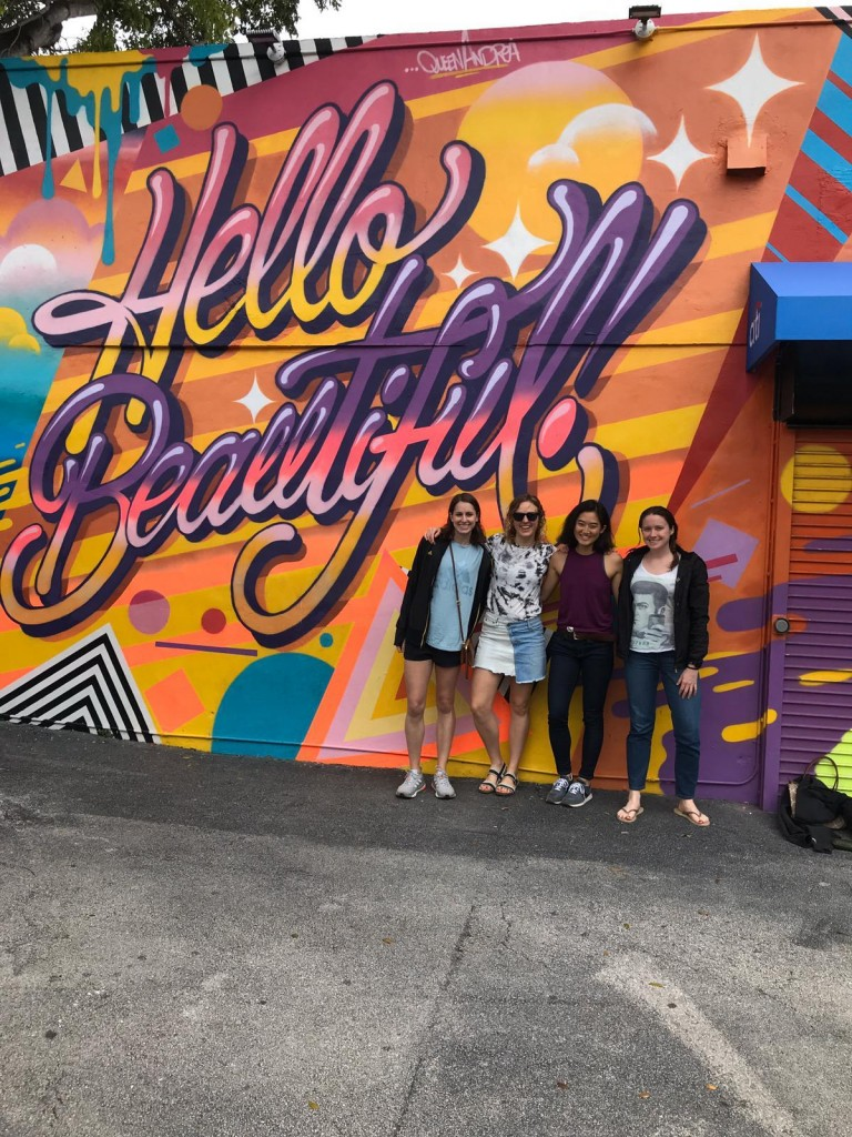 Congrats to Katie KELLNER, Jo DAVIS, Jenn SHIH, and Chrissie CONNORS on completing the Miami Half Marathon this past weekend!