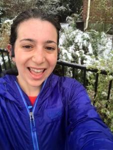 Rain soaked selfie