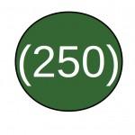 not 250