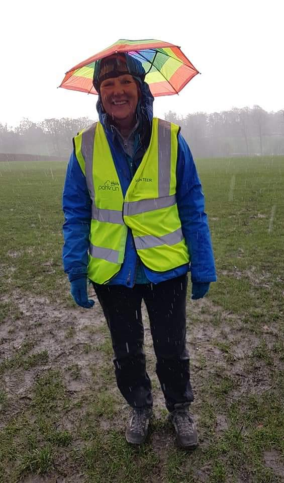 Keeping dry while marshaling