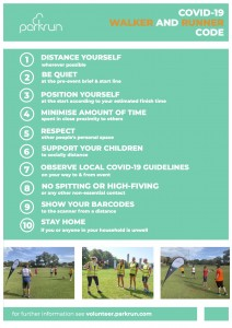 Covid-19 Code for runners and walkers