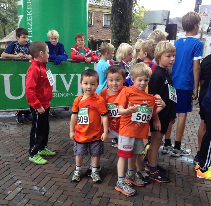 Aldus and Torsten's first race