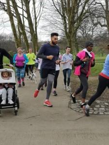 Running Park Run