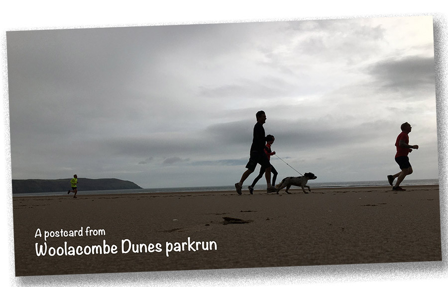 postcard from woolacombe