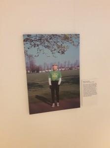 Bob in museum