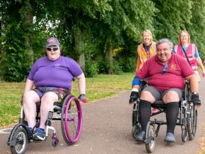 412 - Wheelchair racers