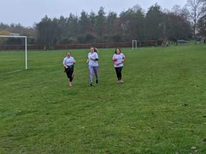 RunFit ladies finish the run