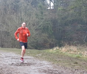 One of our RD team, Julian, clearly enjoying 'just running'!