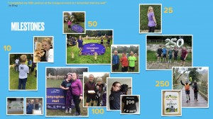 Conyngham Hall parkrun turns 1 - milestones