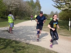 Alan running