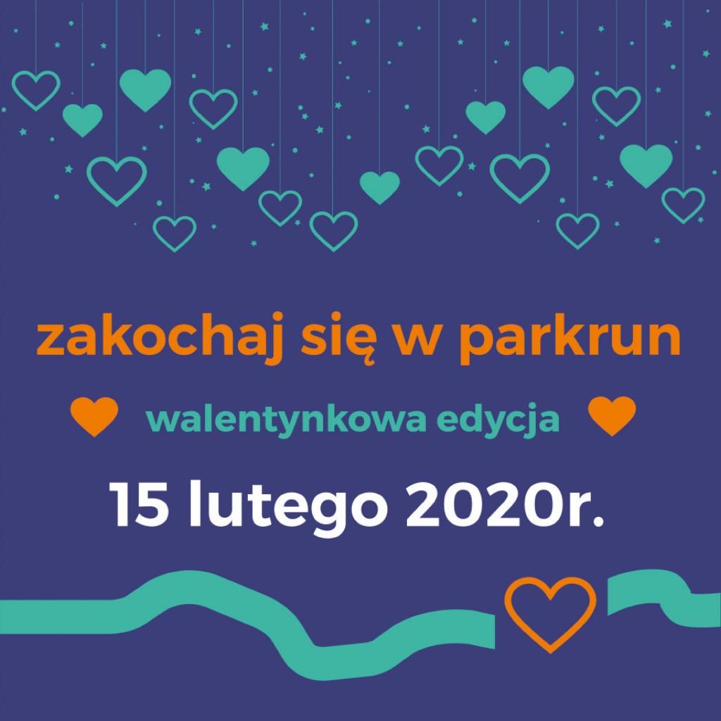 parkrun walentynki post 2020