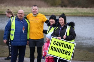 A Quintet of Herrington Country parkrun Vollies!