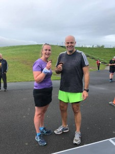 There's no calories in brown food after parkrun's birthday