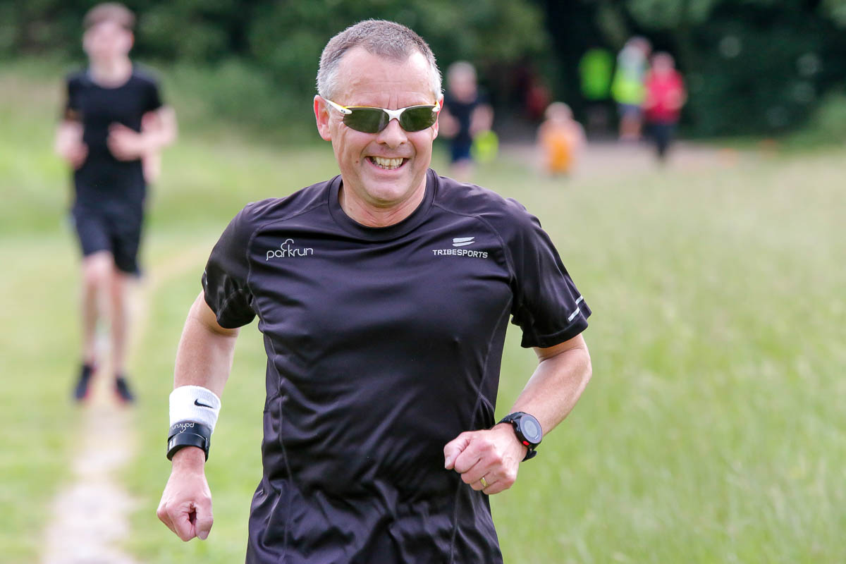Ian is a regular runner of the course at TVP
