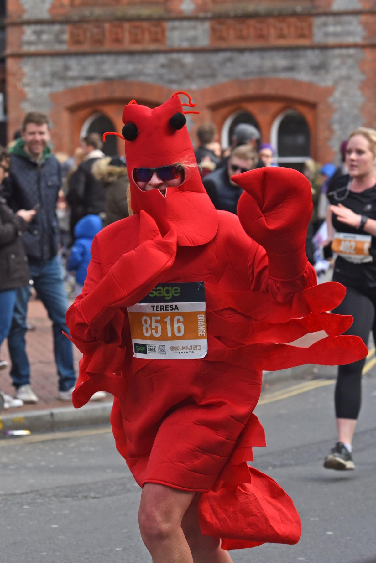 2019 Reading Half Lobster