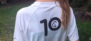 The Junior 10 t-shirt (image from parkrun.com)