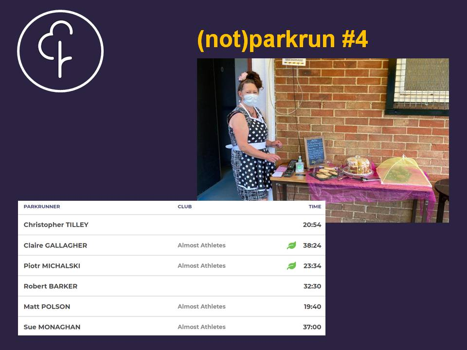 Not parkrun week 4