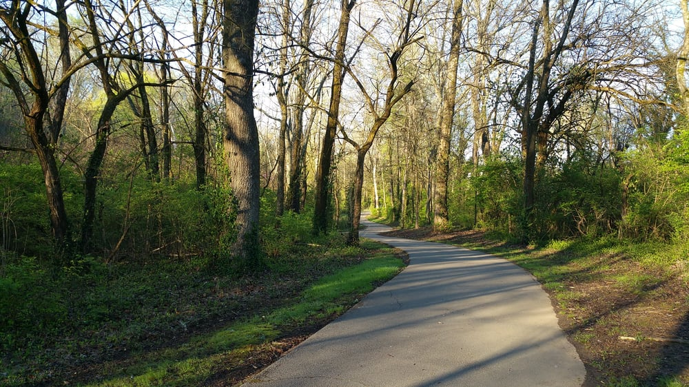 Third Creek Greenway, soon to host a weekly free parkrun 5k