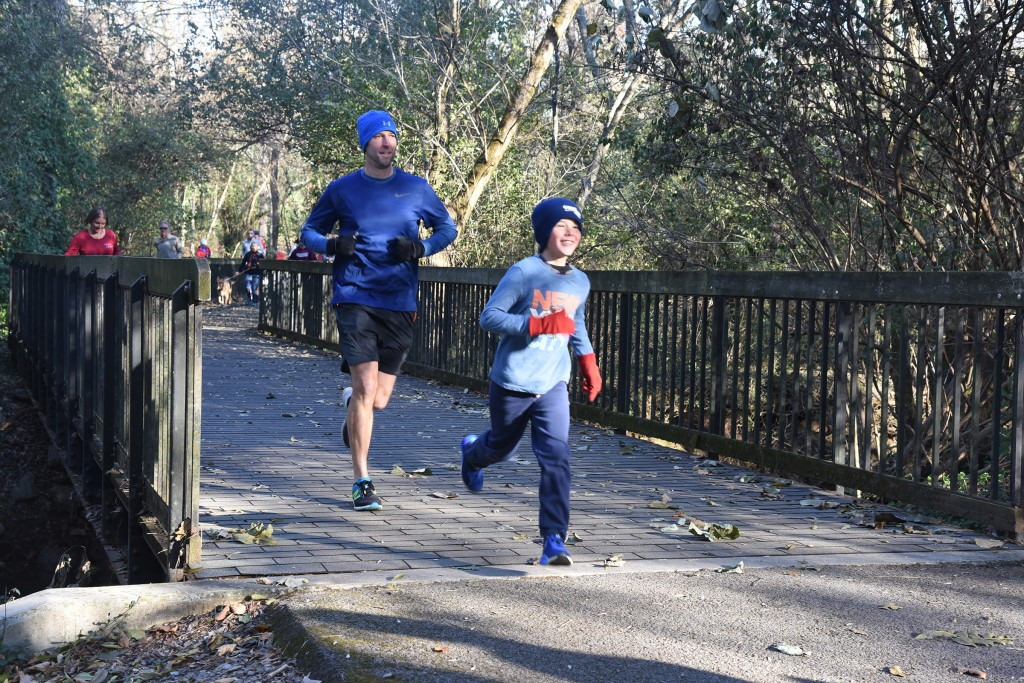 Father-son team Marcus and Alex Steward were both consistent parkrun finishers