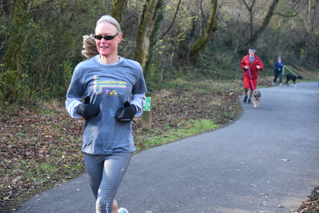 Nancy Henry finished 11 TCG parkruns this past year