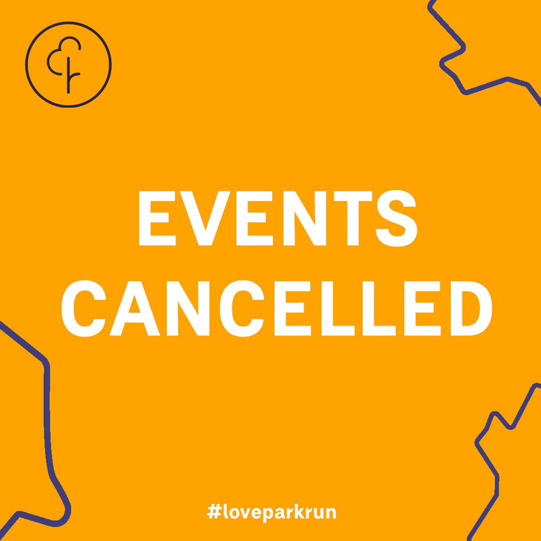 parkrun cancelled