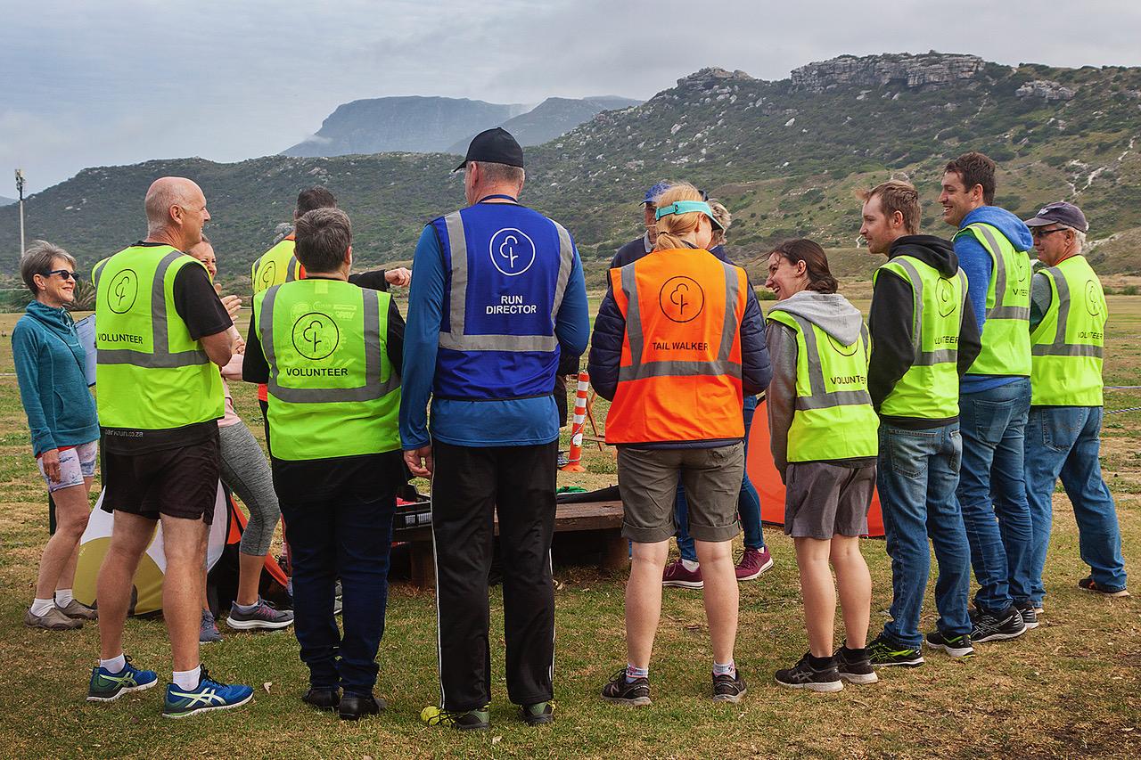 Fish Hoek parkrun welcomes all volunteers.