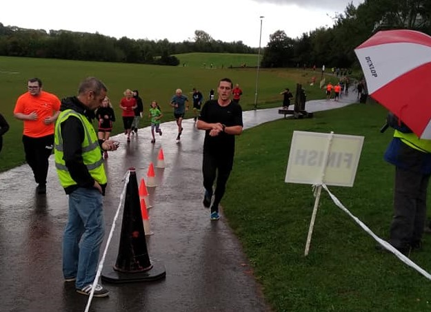 First finisher