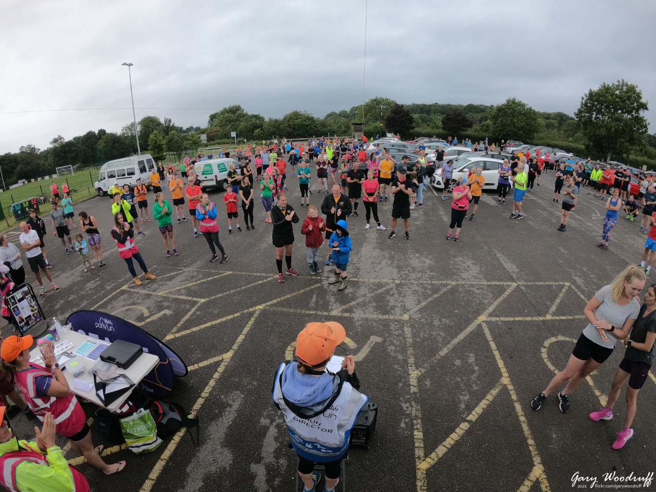 The parkrun briefing