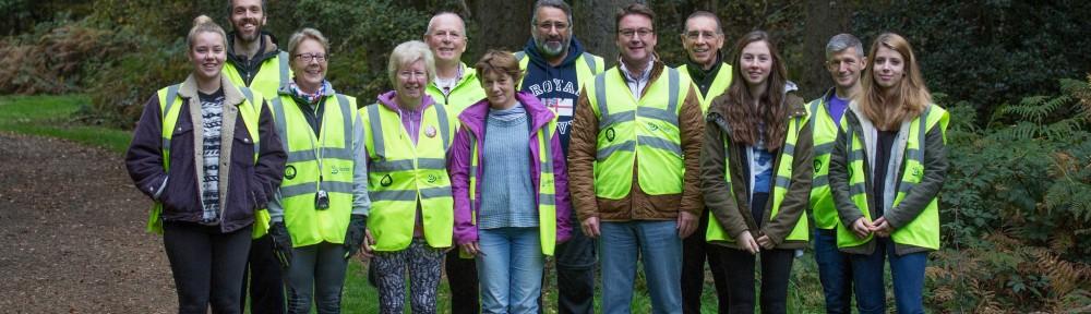 Black Park parkrun - 24th Oct - Volunteers2
